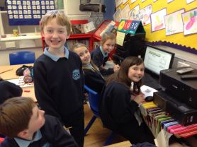 Use of ICT for research in P5/6