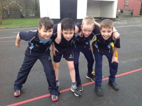 P6/7 Ulster Rugby Coaching
